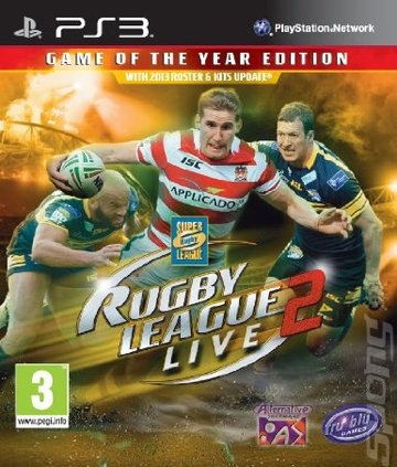 Rugby League Live 2: Game of the Year Edition - PS3 Cover & Box Art