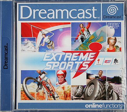 Sega Extreme Sports with 55DSL - Dreamcast Cover & Box Art