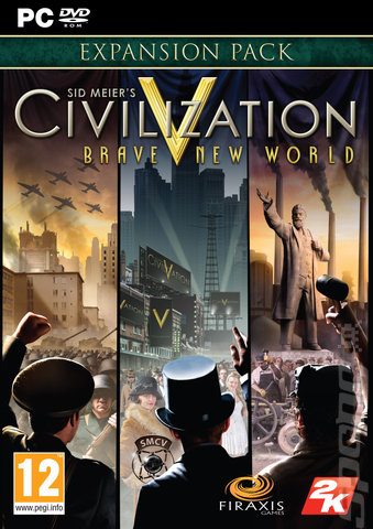 Sid Meier's Civilization V: Brave New World - PC Cover & Box Art