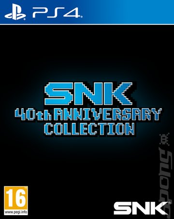 SNK 40th ANNIVERSARY COLLECTION - PS4 Cover & Box Art