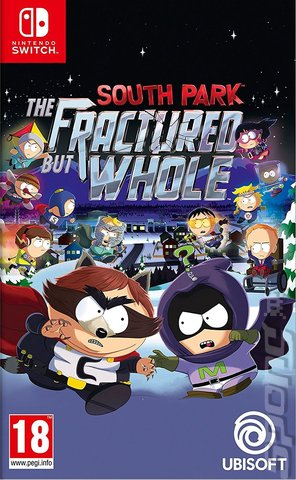 South Park: The Fractured but Whole - Switch Cover & Box Art