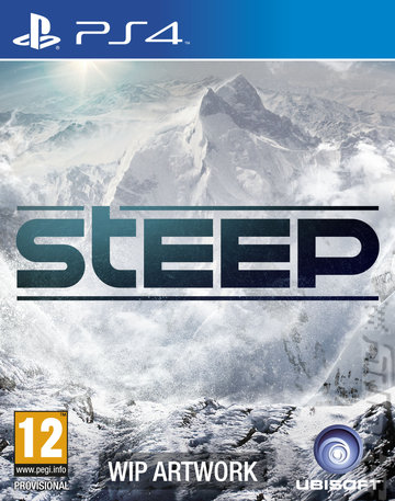 Steep - PS4 Cover & Box Art