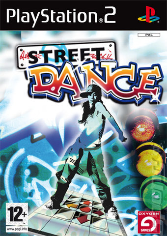Street Dance - PS2 Cover & Box Art