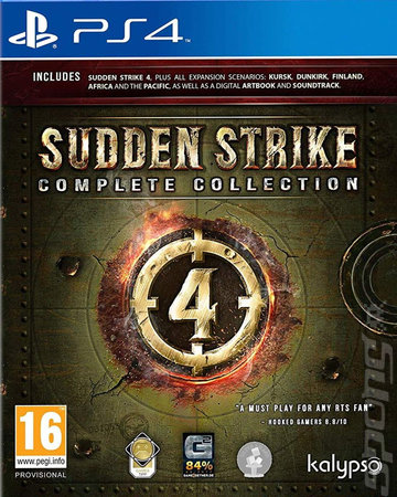 Sudden Strike 4: Complete Collection - PS4 Cover & Box Art