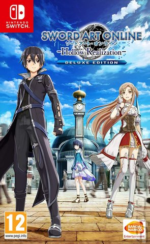 Sword Art Online: Hollow Realization - Switch Cover & Box Art