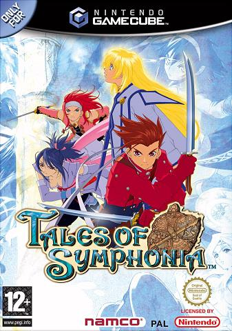 Tales of Symphonia - GameCube Cover & Box Art