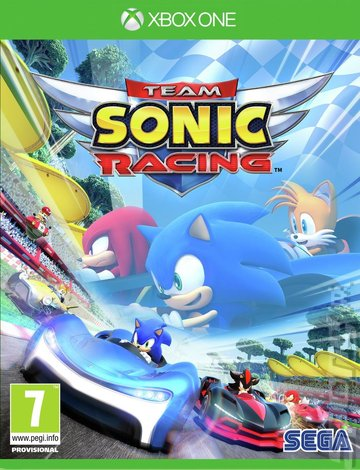 Team Sonic Racing - Xbox One Cover & Box Art