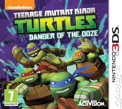 Teenage Mutant Ninja Turtles: Danger of the Ooze - 3DS/2DS Cover & Box Art