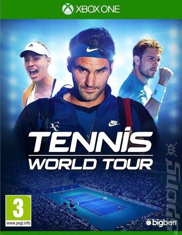 Tennis World Tour - Xbox One Cover & Box Art