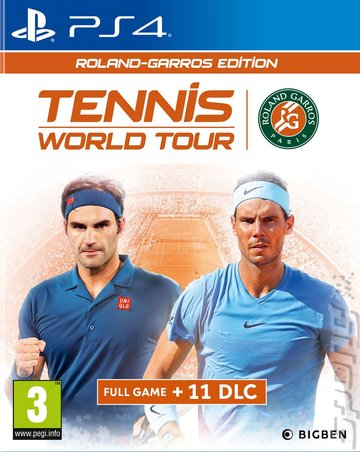 Tennis World Tour: Roland-Garros Edition - PS4 Cover & Box Art