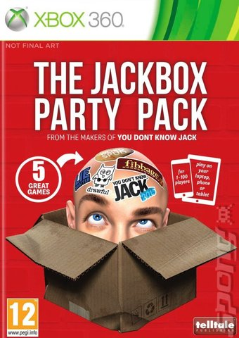 The Jackbox Party Pack - Xbox 360 Cover & Box Art