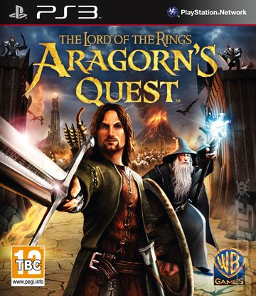 The Lord of the Rings: Aragorn's Quest - PS3 Cover & Box Art