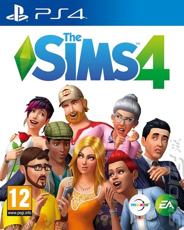 The Sims 4 - PS4 Cover & Box Art