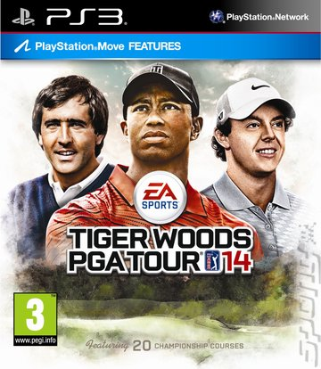 Tiger Woods PGA TOUR 14 - PS3 Cover & Box Art