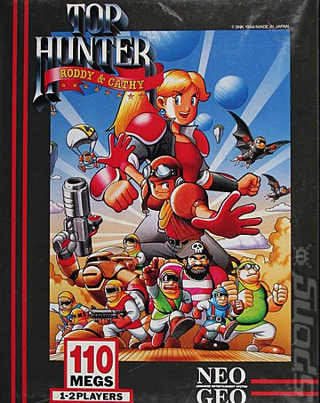 Covers & Box Art: Top Hunter: Roddy & Cathy - Neo Geo (3 of 4)