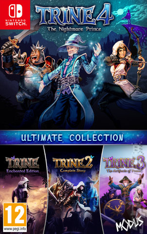 Trine Ultimate Collection - Switch Cover & Box Art