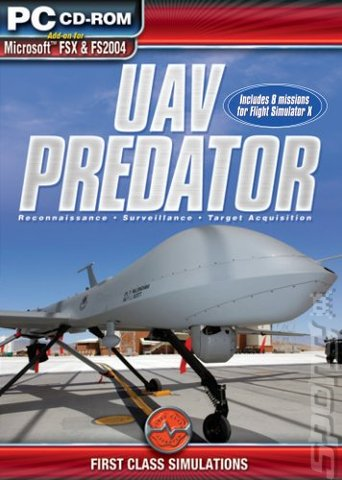 UAV Predator - PC Cover & Box Art