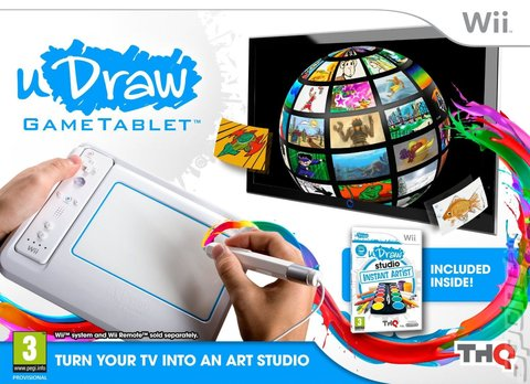 uDraw Studio: Instant Artist - Wii Cover & Box Art