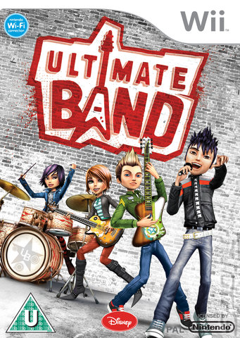 Ultimate Band - Wii Cover & Box Art