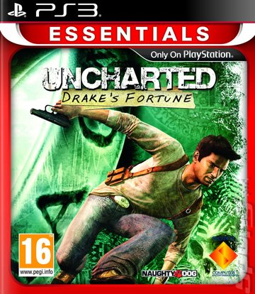 Covers & Box Art: Uncharted: Drake's Fortune - PS3 (1 of 5)  Covers & Box Ar...