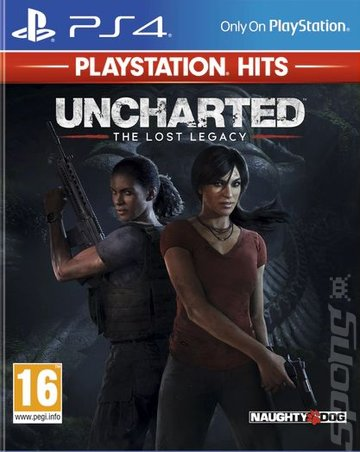 Uncharted: The Lost Legacy - PS4 Cover & Box Art