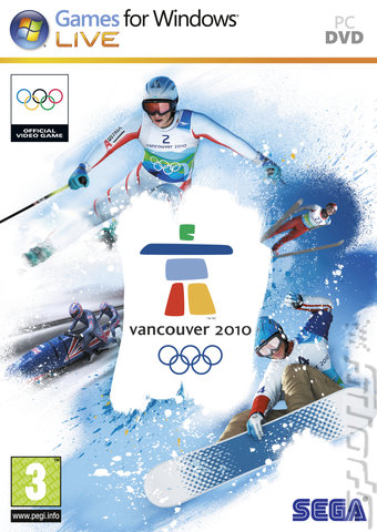 Vancouver 2010: The Official Video Game of the Olympic Winter Games - PC Cover & Box Art