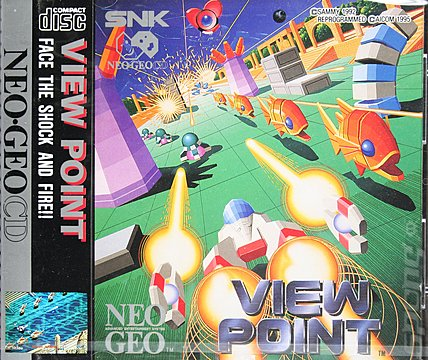 View Point - Neo Geo Cover & Box Art