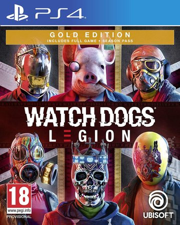 Covers Box Art Watch Dogs Legion Ps4 2 Of 2