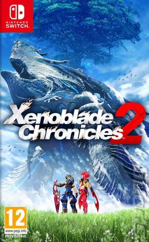 Xenoblade Chronicles 2 - Switch Cover & Box Art
