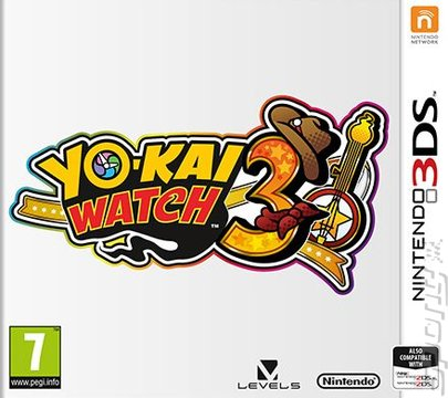Yo-Kai Watch 3 - 3DS/2DS Cover & Box Art