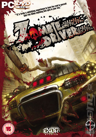 Zombie Driver - PC Cover & Box Art
