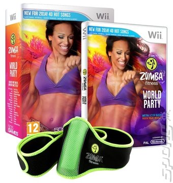 Zumba Fitness: World Party - Wii Cover & Box Art