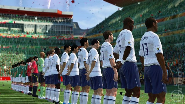 2010 FIFA World Cup South Africa - Xbox 360 Screen