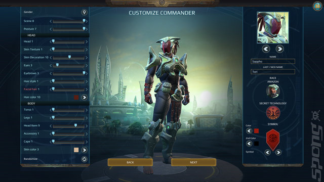 Age of Wonders: Planetfall - PC Screen