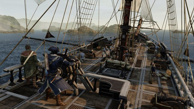 Assassin's Creed III Remastered - PS4 Screen
