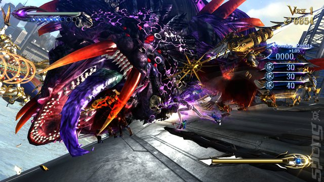 Bayonetta 2 - Switch Screen