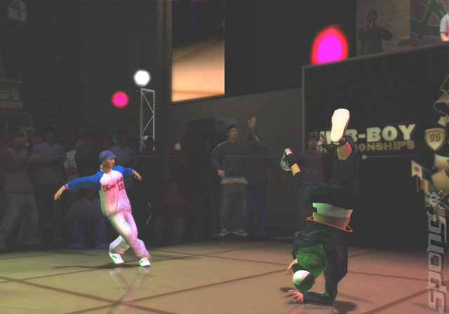 B-Boy - PS2 Screen