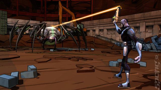 Ben 10: Omniverse - Xbox 360 Screen