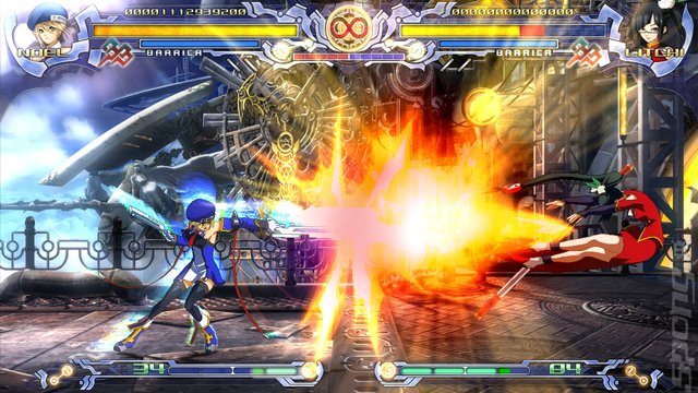 BlazBlue: Calamity Trigger - PC Screen