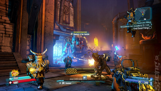 Borderlands 2: Game of the Year Edition - Xbox 360 Screen