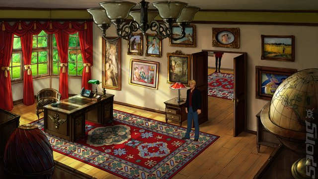 Broken Sword 5: The Serpent's Curse - Switch Screen