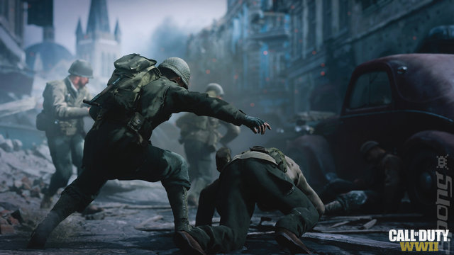 Call of Duty: WWII Editorial image