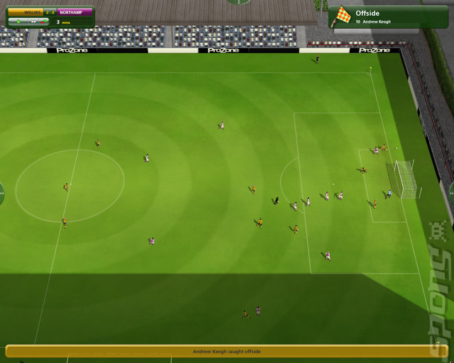 Championship Manager 2010 - PC Screen
