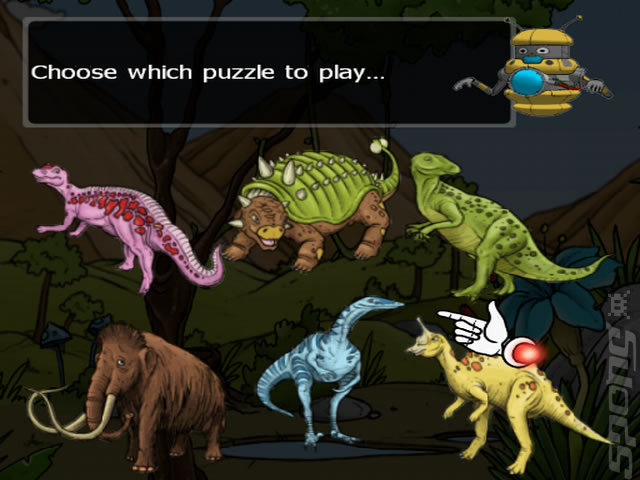 Clever Kids: Dino Land - PC Screen