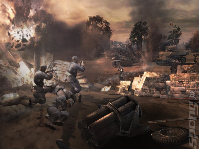 Company of Heroes: Opposing Fronts - PC Screen