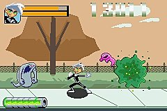 Danny Phantom: The Ultimate Enemy - GBA Screen
