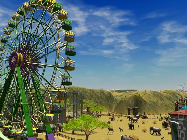 Rollercoaster Tycoon 3 Deluxe Edition - PC Screen