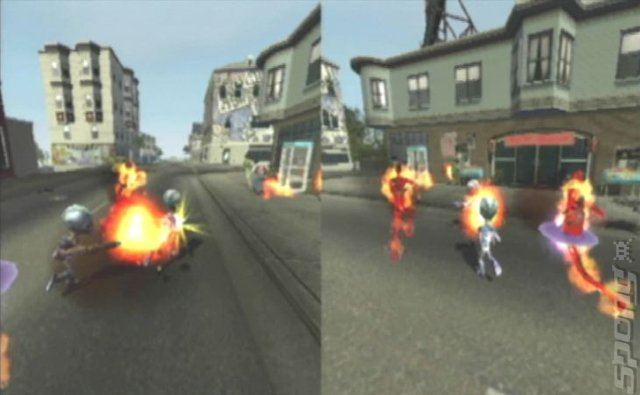 Destroy All Humans! 2 - Xbox Screen