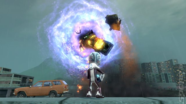 Destroy All Humans! Path of the Furon - PS3 Screen