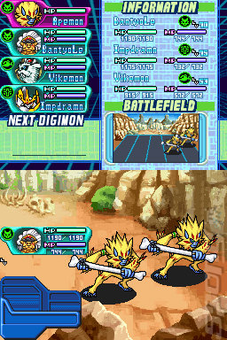 Screens: Digimon World DS - DS/DSi (20 of 22)